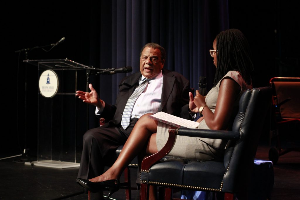 Ambassador Andrew Young Kicks Off Ralph Bunche Center Speaker Series