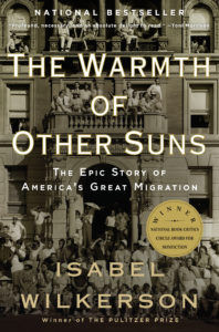 Isabel Wilkerson's first book, The Warmth Of Other Suns, recipient of the National Book Award for Nonfiction. (Courtesy Photo)