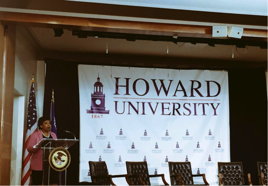 Attorney General Visits Howard University To Address State of Community Policing