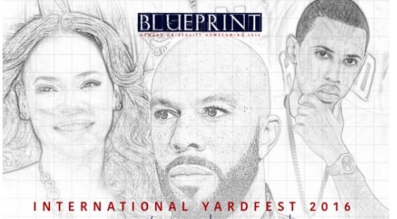#ExperienceBlueprint: Common, Faith Evans, Fabolous to Headline 2016 Howard Homecoming Yardfest