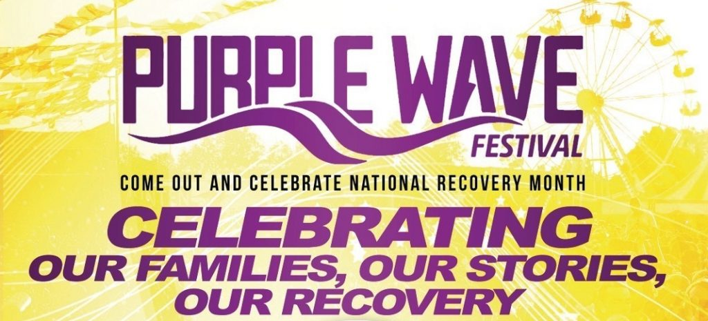 Purple Wave Festival: Celebrating Mental Health and Substance Abuse Recovery