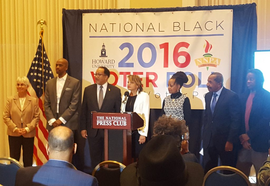 Howard University and the NNPA Make History with the 2016 National Black Voter Poll