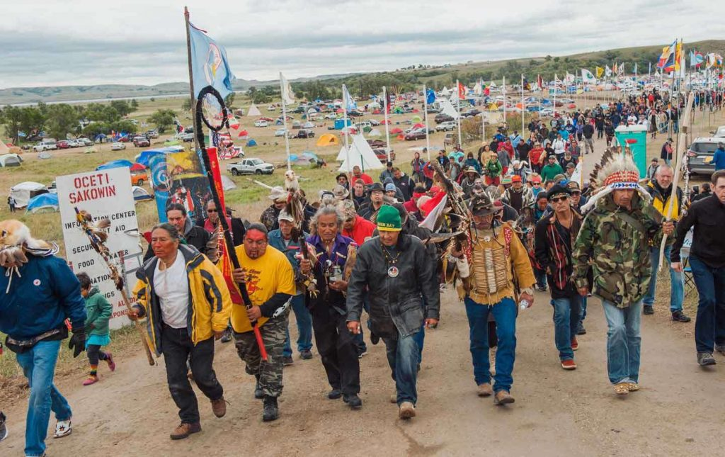 COLUMN — Thanksgiving At Standing Rock