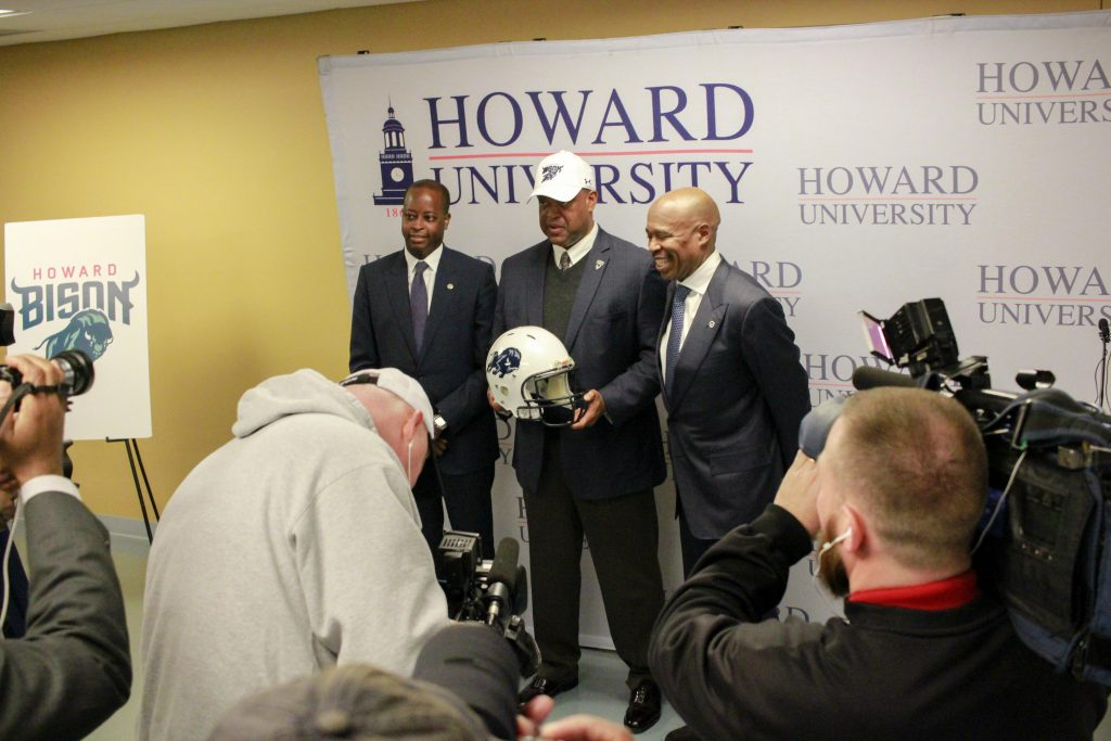 'It's a New Era:' Mike London Motivates Players After Introduction as Howard's Head Football Coach