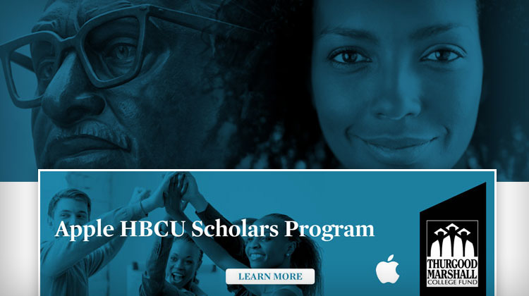 Congratulations To Apple HBCU Scholars