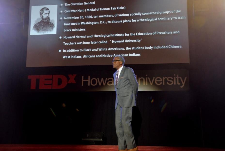 Howard Holds TedxTalk Series