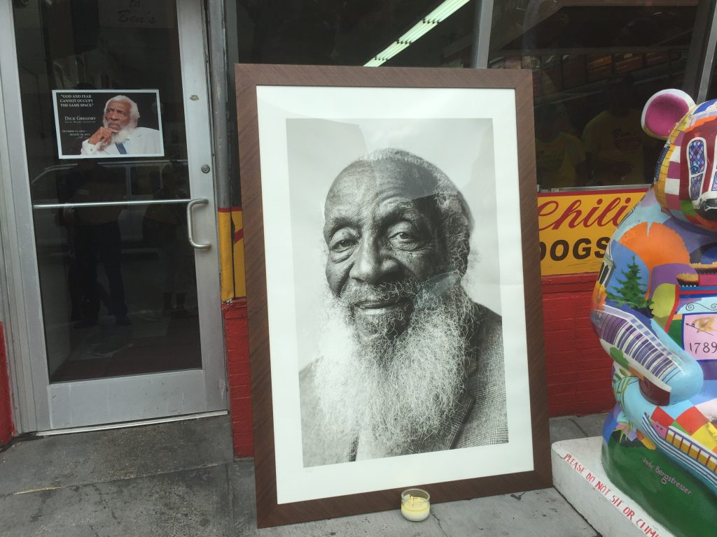 "Dick Gregory's life honored with tribute parade and ""Celebration of Life"" service"