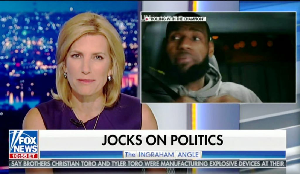 """Shut Up and Dribble"": LeBron James criticized for opinion by Fox News pundit"