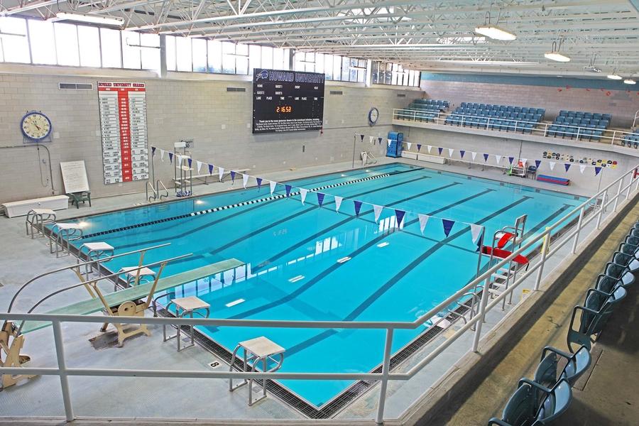 Howard University Swimming Bids Farewell to Seniors In Win Against Marymount