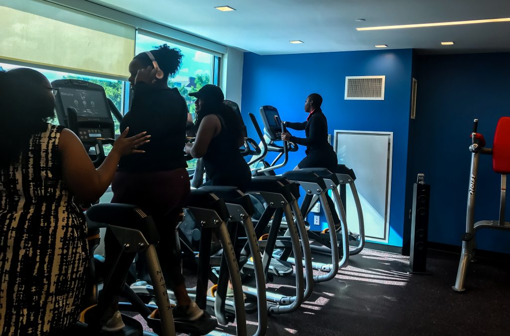 New Gym Facilities Open in College Hall Dorms