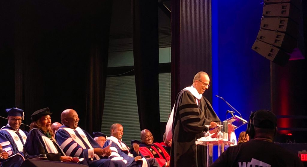Howard University's 151st Opening Convocation Urges Critical Thinking