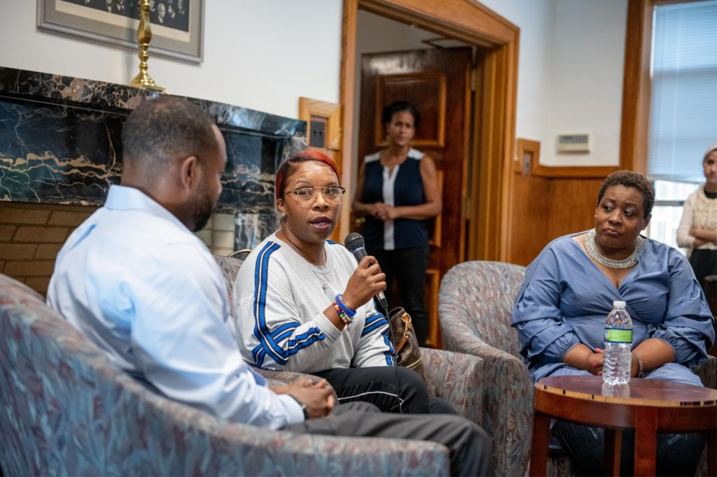 Mother of Michael Brown Visits HU Law School