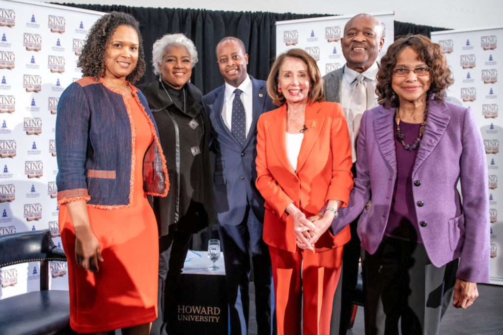 Speaker Nancy Pelosi Visits Howard for King Lecture Series