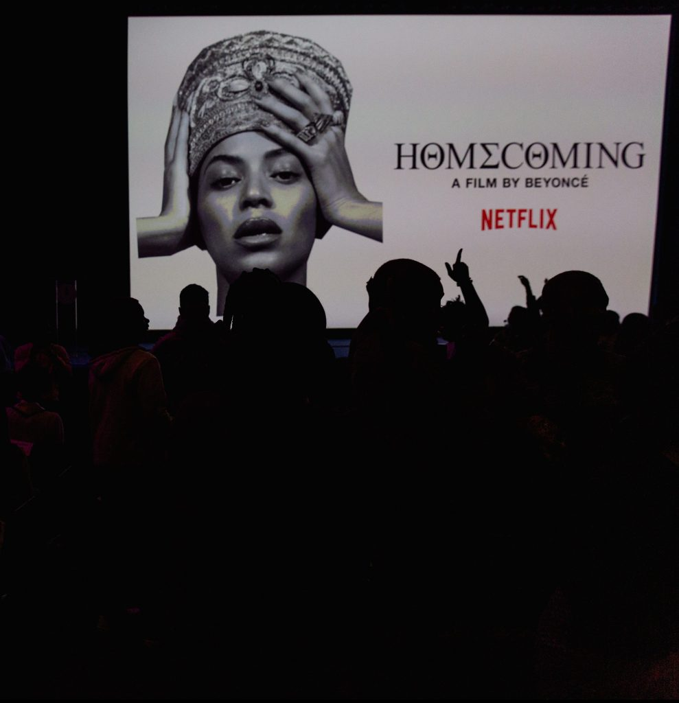 "Netflix Hosts Screening of Beyoncé's ""Homecoming"" for Howard, HBCUs"