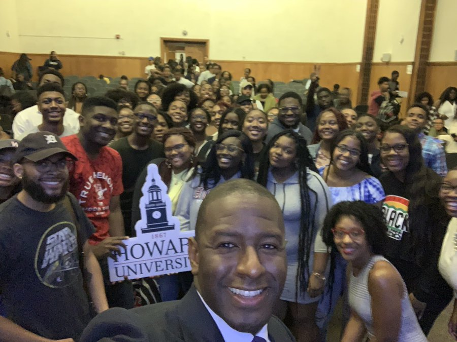 From Florida to Howard, Andrew Gillum Looks Forward